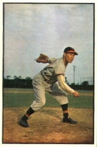 1953 Bowman Color Bob Feller #114