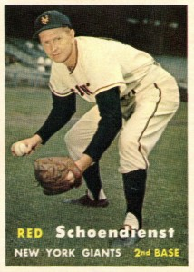 Top 10 Red Schoendienst Baseball Cards 3