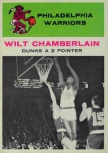 1961-62 Fleer Basketball Wilt Chamberlain #47