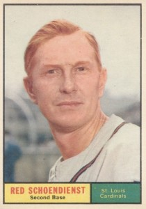 Top 10 Red Schoendienst Baseball Cards 5
