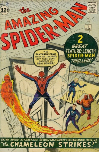 1963 The Amazing Spider-Man #1