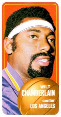 1970-71 Topps Basketball Wilt Chamberlain #50