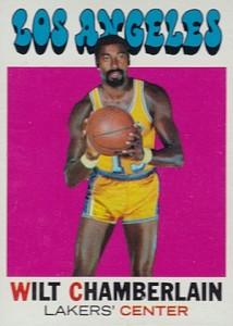 1971-72 Topps Basketball Wilt Chamberlain #70