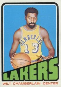 1972-73 Topps Basketball Wilt Chamberlain #1