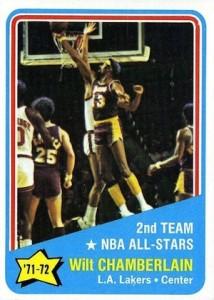 1972-73 Topps Basketball Wilt Chamberlain #168