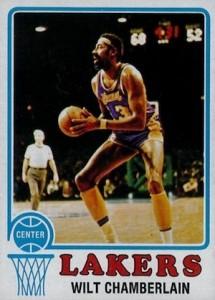 1973-74 Topps Basketball Wilt Chamberlain #80
