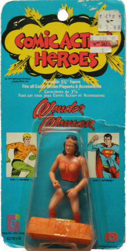 1976 Mego Comic Action Figures Wonder Woman