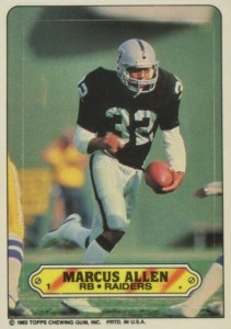 Top 10 Marcus Allen Football Cards 6