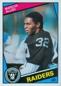 Top 10 Marcus Allen Football Cards 16