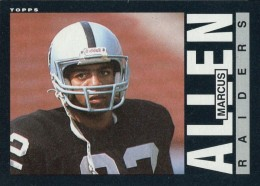 Top 10 Marcus Allen Football Cards 13