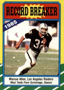 Top 10 Marcus Allen Football Cards 2