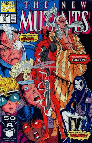 1991 The New Mutants #98 Deadpool