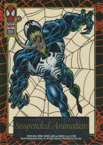 1994 Fleer Amazing Spider Man Suspended Animation Chase