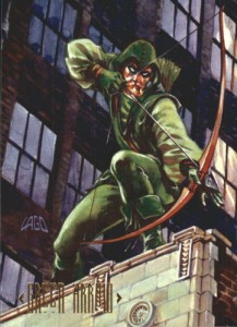 1994 Skybox DC Master Series 64 Green Arrow