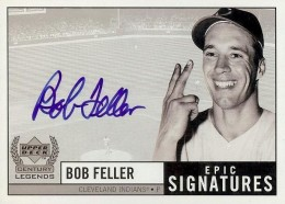 1999 Upper Deck Century Legend Bob Feller #BF