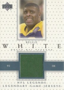2000 Upper Deck Legends Game Jersey Reggie White