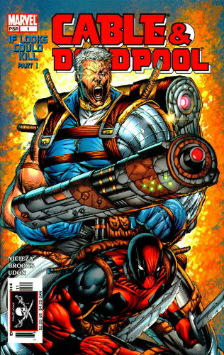 2004 Marvel Cable & Deadpool 1