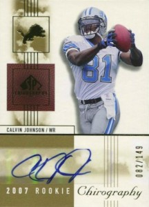 Top 10 Calvin Johnson Rookie Cards of All-Time 2