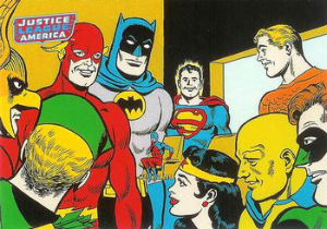 2009 Rittenhouse Justice League Archives Trading Cards 4