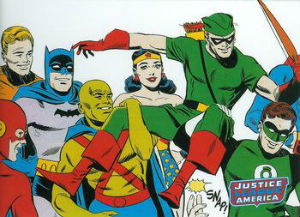 2009 Rittenhouse Justice League Archives Trading Cards 3