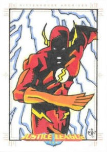 2009 Rittenhouse Justice League Archives Trading Cards 27