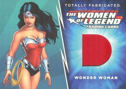 2013 Cryptozoic DC Comics Women of Legend Totally Fabricated Wonder Woman