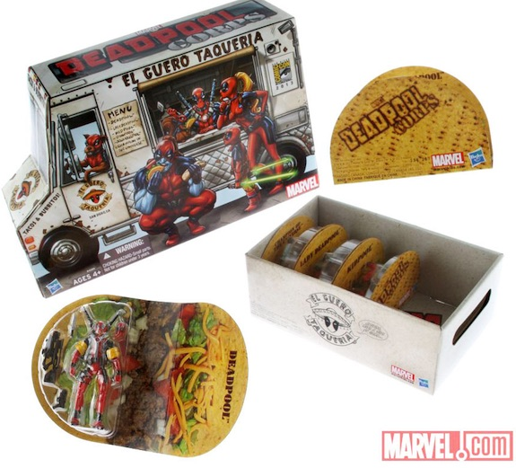 2013 SDCC exclusive Deadpool Corps Taco Truck Hasbro