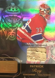 2015-16 Fleer Showcase Hockey Flair Premium Materials