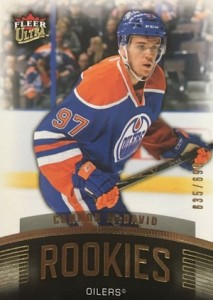 2015-16 Fleer Showcase Hockey Ultra Rookie Connor McDavid