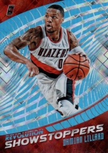 2015-16 Panini Revolution Basketball Showstoppers Cosmic