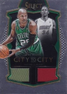2015-16 Panini Select Basketball City to City Memorabilia