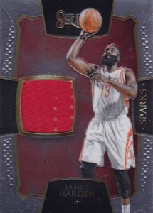 2015-16 Panini Select Basketball Sparks Relic Harden