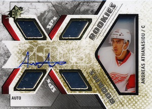 2015-16 SPx Hockey Rookie Autographs