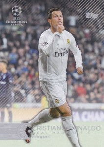 2015-16 Topps UEFA Champions League Showcase Base Cristiano Ronaldo