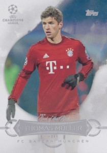 2015-16 Topps UEFA Champions League Showcase Best of the Best Muller