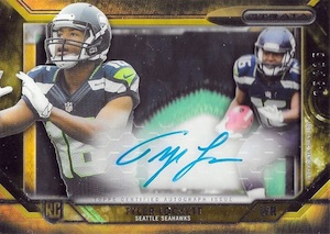 2015 Topps Strata Football Signature Patch