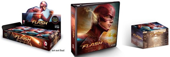 2016 Cryptozoic The Flash Season 1 main