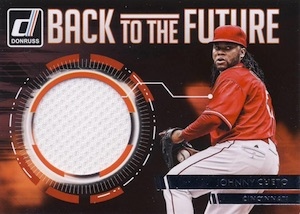 2016 Donruss Baseball Back to the Future Materials