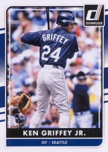 2016 Donruss Baseball Base Ken Griffey Jr