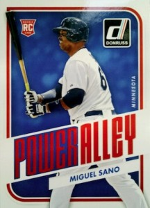 2016 Donruss Baseball Power Alley