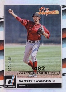 2016 Donruss Baseball Cards 37