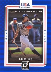 2016 Donruss Baseball USA Collegiate National Team