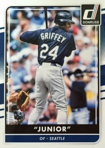 2016 Donruss Baseball Variations Junior Griffey