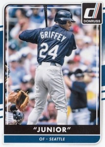 2016 Donruss Baseball Variations Nickname Ken Griffey Jr