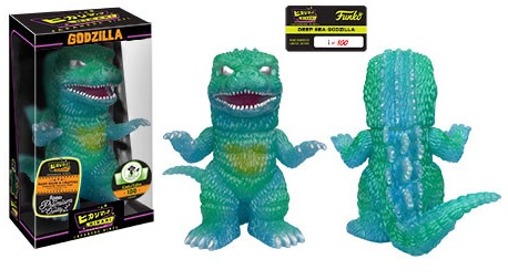 2016 Funko Emerald City Comicon Exclusives Hikari Godzilla Deep Sea Godzilla
