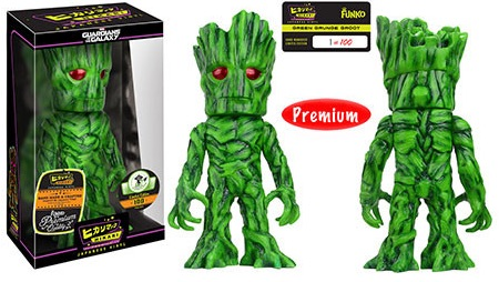 2016 Funko Emerald City Comicon Exclusives Hikari Guardians of the Galaxy - Green Grunge Groot