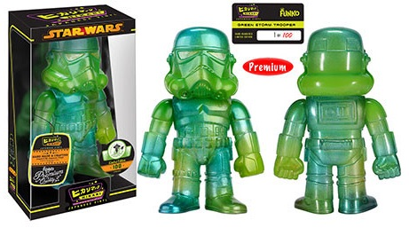 2016 Funko Emerald City Comicon Exclusives Hikari Star Wars Green Stormtrooper