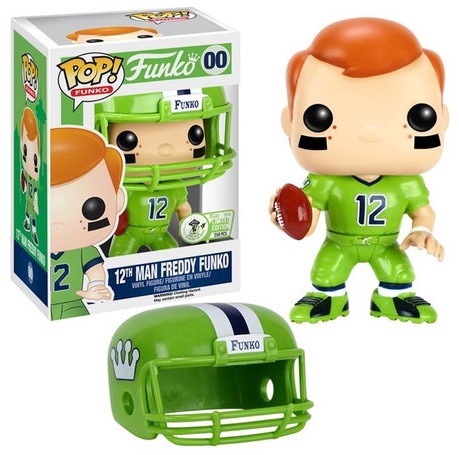 2016 Funko Emerald City Comicon Exclusives Pop Freddy Funko #00 12th Man