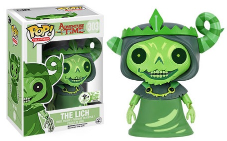 2016 Funko Emerald City Comicon Exclusives Pop TV #303 Adventure Time The Lich Green