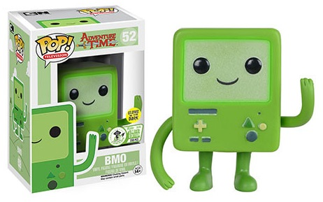 2016 Funko Emerald City Comicon Exclusives Pop TV #52 Adventure Time Green B-MO Glow In The Dark
